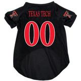 Texas Tech Red Raiders Dog Pet Mesh Football Jersey
