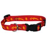 USC Trojans Dog Pet Adjustable Nylon Collar