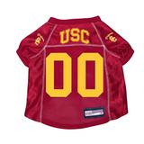 USC Trojans Dog Pet Premium Mesh Football Jersey