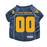 West Virginia Mountaineers Dog Pet Premium Mesh Football Jersey