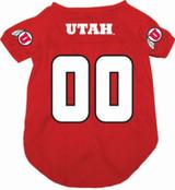 Utah Utes Dog Pet Mesh Football Jersey