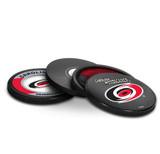 Carolina Hurricanes Real Hockey Puck Coasters Set