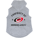 Carolina Hurricanes Dog Pet Premium Button Up Property Of Hoodie Sweatshirt
