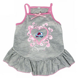 Colorado Avalanche Dog Pet Pink Too Cute Squad Jersey Tee Dress