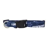 Dallas Cowboys Dog Pet Adjustable Nylon Logo Collar
