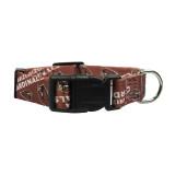 Arizona Cardinals Dog Pet Adjustable Nylon Logo Collar