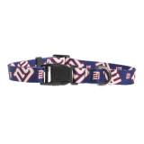 New York Giants Dog Pet Adjustable Nylon Logo Collar