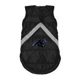 Carolina Panthers Dog Pet Premium Puffer Vest Reflective Jacket
