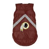 Washington Redskins Dog Pet Premium Puffer Vest Reflective Jacket