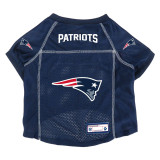 New England Patriots Dog Pet Premium Alternate Mesh Football Jersey LE