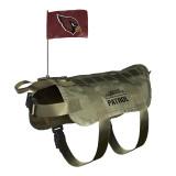 Arizona Cardinals Dog Pet Premium Tactical Vest Harness w/ Flag