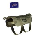 Buffalo Bills Dog Pet Premium Tactical Vest Harness w/ Flag