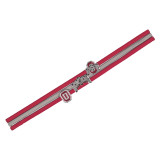 Ohio State Buckeyes Charmed Headband Hairband
