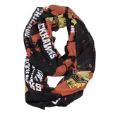 Chicago Blackhawks Paint Spatter Infinity Scarf