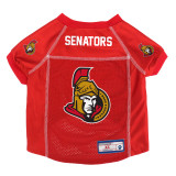 Ottawa Senators Dog Pet Premium Mesh Hockey Jersey LE