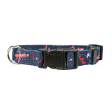 Washington Capitals Dog Pet Adjustable Nylon Logo Collar