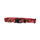 Chicago Blackhawks Dog Pet Adjustable Nylon Logo Collar