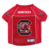 South Carolina Gamecocks Dog Pet Premium Alternate Mesh Football Jersey LE