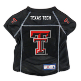 Texas Tech Red Raiders Dog Pet Premium Alternate Mesh Football Jersey LE