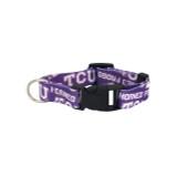 Texas Christian TCU Horned Frogs Dog Pet Adjustable Nylon Logo Collar
