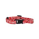 Cincinnati Bearcats Dog Pet Adjustable Nylon Logo Collar