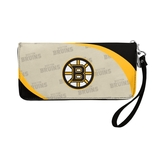 Boston Bruins Curve Zip Organizer Wallet Wristlet