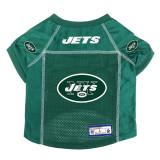 New York Jets Dog Pet Premium Alternate Mesh Football Jersey LE