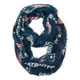 New England Patriots Sheer Infinity Fashion Scarf