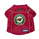Minnesota Wild Dog Pet Premium Mesh Hockey Jersey