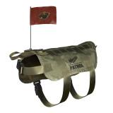 Minnesota Wild Dog Pet Premium Tactical Vest Harness w/ Flag