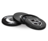 Los Angeles Kings Real Hockey Puck Coasters Set