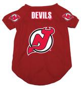 New Jersey Devils Dog Pet Mesh Hockey Jersey