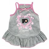 Philadelphia Flyers Dog Pet Pink Too Cute Squad Jersey Tee Dress