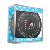 Philadelphia Flyers My First Official Puck In Case Baby Boy Blue