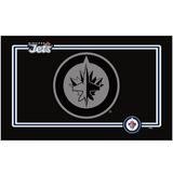 Winnipeg Jets Dog Pet Neoprene Bowl Mat Placemat Black