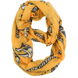 Nashville Predators Sheer Infinity Fashion Scarf Alternate