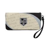 Los Angeles Kings Curve Zip Organizer Wallet Wristlet