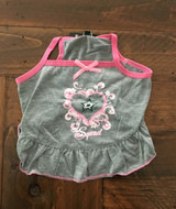 Dallas Stars Dog Pet Pink Too Cute Squad Jersey Tee Dress