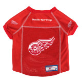 Detroit Red Wings Dog Pet Premium Mesh Hockey Jersey LE