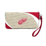 Detroit Red Wings Curve Zip Organizer Wallet Wristlet
