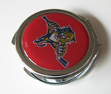Florida Panthers Ladies Compact Mirror