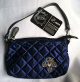 Florida Panthers Quilted Wristlet Purse