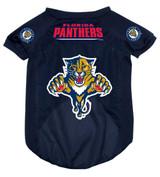 Florida Panthers Dog Pet Mesh Hockey Jersey