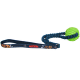 Florida Panthers Dog Rubber Ball Bungee Tug Toss Toy