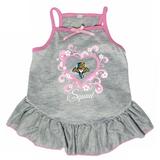 Florida Panthers Dog Pet Pink Too Cute Squad Jersey Tee Dress