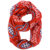 Montreal Canadiens Sheer Infinity Fashion Scarf