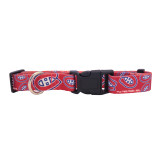 Montreal Canadiens Dog Pet Adjustable Nylon Logo Collar