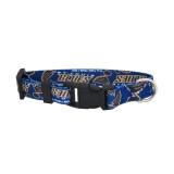 St. Louis Blues Dog Pet Adjustable Nylon Logo Collar