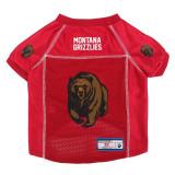 Montana Grizzlies Dog Pet Premium Alternate Mesh Football Jersey LE