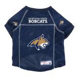 Montana State Bobcats Dog Pet Premium Alternate Mesh Football Jersey LE
